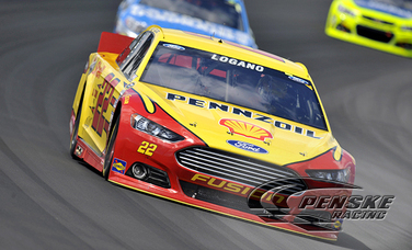 Logano Races to a Seventh-Place Result at Pocono