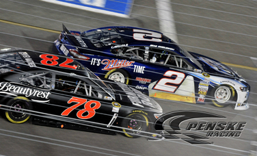 Keselowski Finishes 17th in Federated Auto Parts 400