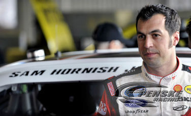Hornish Sixth Fastest in Qualifying at Talladega