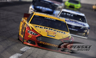 Logano Charges to Top-5 Finish After Starting From Rear