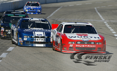 Top-Three Finish for Hornish at Texas Motor Speedway
