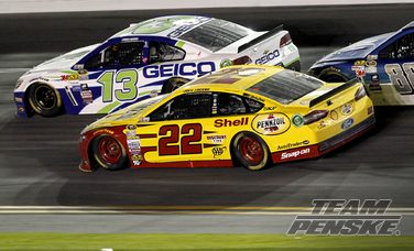 Logano Races His Way to Sixth In Sprint Unlimited