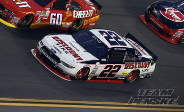 Top Five For Keselowski In Xfinity Series Season Opener