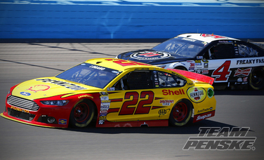 Logano Finishes Eighth At Phoenix International Raceway