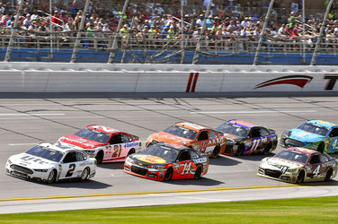 Team Penske NASCAR Sprint Cup Series Race Report - Talladega