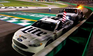 Team Penske | News | NASCAR Sprint Cup Series Race Report