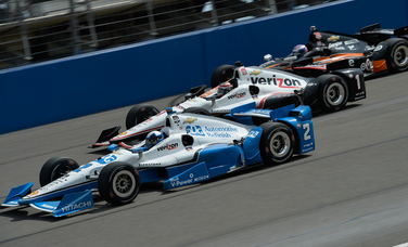 Verizon IndyCar Series Race Report - Auto Club