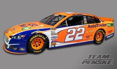 Autotrader.com to Sponsor No. 22 Team Penske Ford
