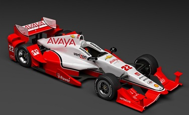 AVAYA TO PARTNER WITH PENSKE IN BOTH INDYCAR AND NASCAR
