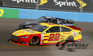 Logano Runs Short On Fuel and Finishes 26th at Phoenix