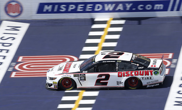 Team Penske Monster Energy NASCAR Cup Series Practice and Qualifying Report - Michigan