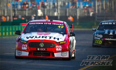 Ambrose And DJR Team Penske Make Progress In Race Two