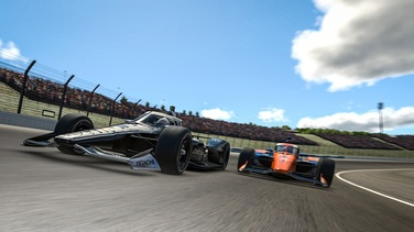 Team Penske IndyCar iRacing Race Report - Motegi