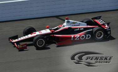 Team Penske Shows its Speed on Fast Friday in Indy