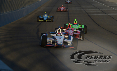 Castroneves Finishes 5th to Lead Team Penske in Finale