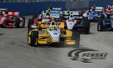 Castroneves Finishes 6th at Milwaukee Mile