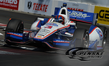 Castroneves and Power Both Lead Team Penske Qualifying