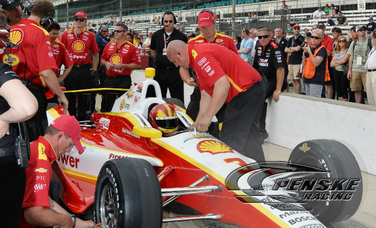 Team Penske Completes Bump Day for Indianapolis 500
