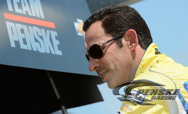 Castroneves Earns Front Row Start for Iowa 250