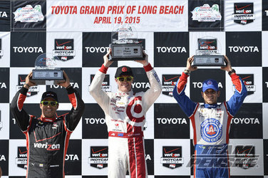 Team Penske Verizon IndyCar Series Race Report - Long Beach