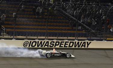 Team Penske IndyCar Series Race Report - Iowa