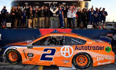 Team Penske | News | Monster Energy NASCAR Cup Series Race