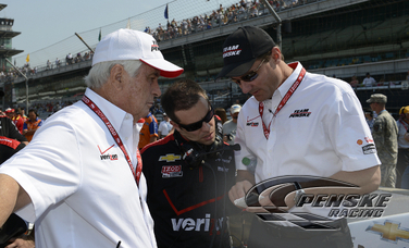 Team Penske Completes Final Prep for Indianapolis 500