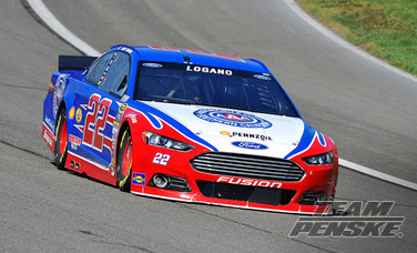 Logano Picks Up Fifth-Straight Top-10 to Start Season