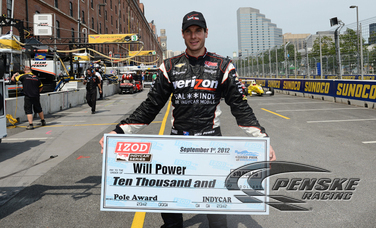 Power Wins Fifth Pole of the Season in Baltimore
