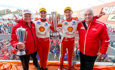 Scott McLaughlin and Alex Premat win the Bathurst 1000