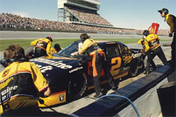 Rusty Wallace pit stop