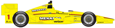 No. 1 Menards Team Penske Dallara / Chevy