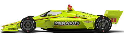 No. 22 Menards Team Penske Dallara/Chevrolet