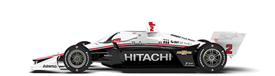 No. 2 Hitachi Team Penske Dallara/Chevy