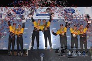 The Penske Racing drivers sweep the LMP2 podium at Petit Le Mans